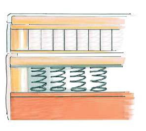 boxspringbett bx 760 mit topper designerbett doppelbett modern bett 180x200 cm 758710801249 ebay. Black Bedroom Furniture Sets. Home Design Ideas