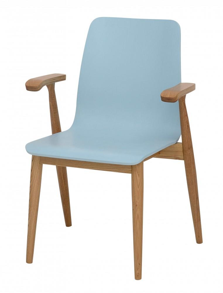 retro blau stuhl. Black Bedroom Furniture Sets. Home Design Ideas