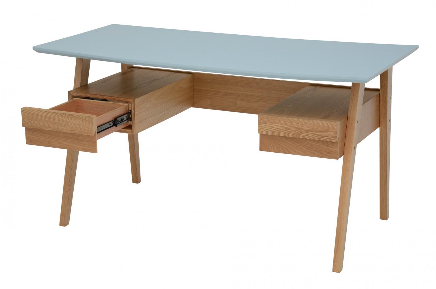 retro schreibtisch computertisch arbeitstisch b rotisch. Black Bedroom Furniture Sets. Home Design Ideas
