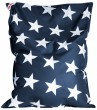Sitzsack Stars BigBag XXL jeansblau 380 l Magma by Sitting Point 001