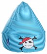 Sitzsack Magma PIRAT Beanbag XL blau l by Sitting Point 001