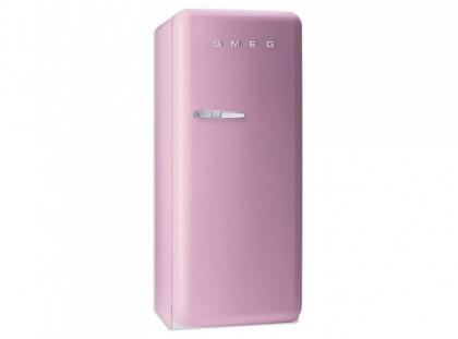 smeg standk hlschrank mit gefrierfach retro style rosa. Black Bedroom Furniture Sets. Home Design Ideas