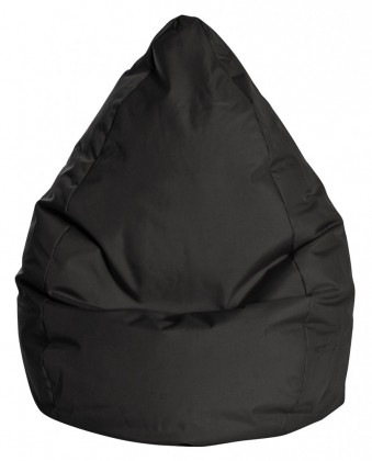 Sitzsack BeanBag BRAVA L schwarz 120 l by Sitting Point