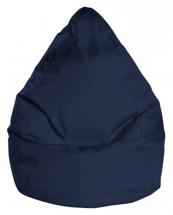 Sitzsack BeanBag BRAVA L jeansblau 120 l by Sitting Point