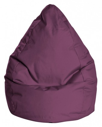 Sitzsack BeanBag BRAVA L aubergine 120 l by Sitting Point