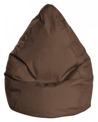 Sitzsack BeanBag BRAVA L braun 120 l by Sitting Point