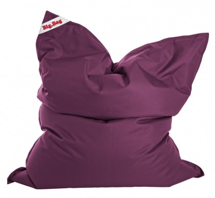 Sitzsack BRAVA Big Bag aubergine 380l  l by Sitting Point