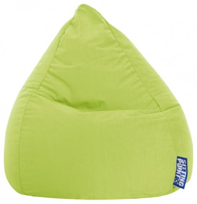 Sitzsack EASY Beanbag L grün 120 l Magma by Sitting Point