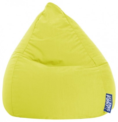 Sitzsack EASY Beanbag L limone 120 l Magma by Sitting Point