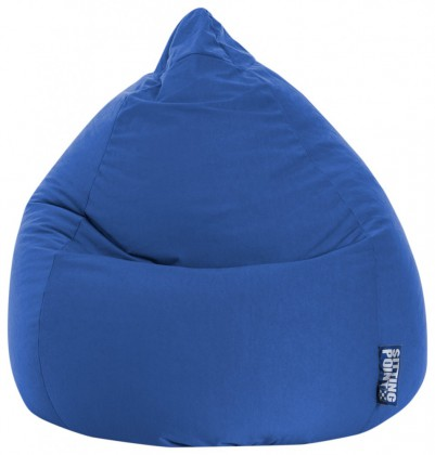 Sitzsack EASY Beanbag XL dunkelblau 220 l Magma by Sitting Point