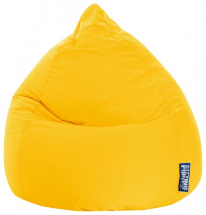 Sitzsack EASY Beanbag XL gelb 220 l Magma by Sitting Point