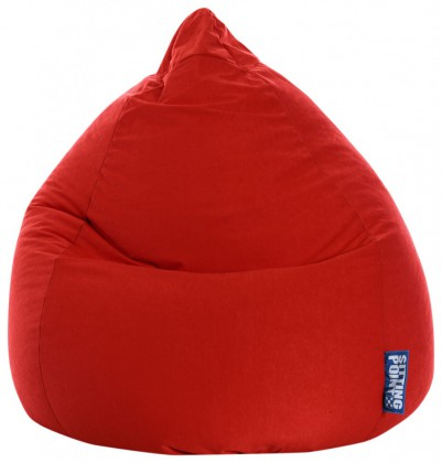Sitzsack EASY Beanbag XL rot 220 l Magma by Sitting Point
