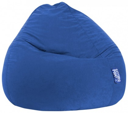 Sitzsack EASY Beanbag XXL dunkelblau 300 l Magma by Sitting Point
