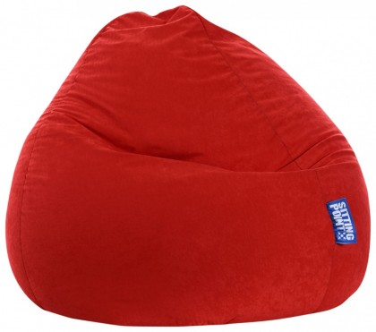 Sitzsack EASY Beanbag XXL rot 300 l Magma by Sitting Point