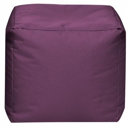 Sitzsack Würfel SCUBA Cube aubergine 60 l by Sitting Point