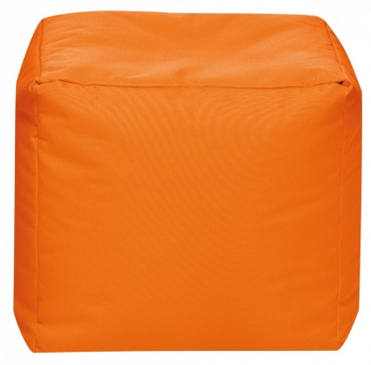 Sitzsack Würfel SCUBA Cube orange 60 l by Sitting Point