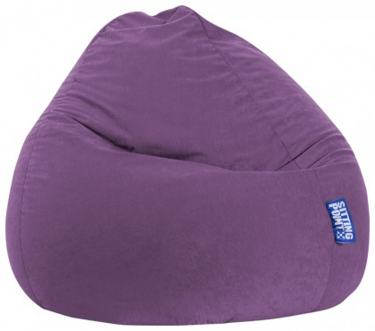 Sitzsack EASY Beanbag XXL lila 300 l Magma by Sitting Point