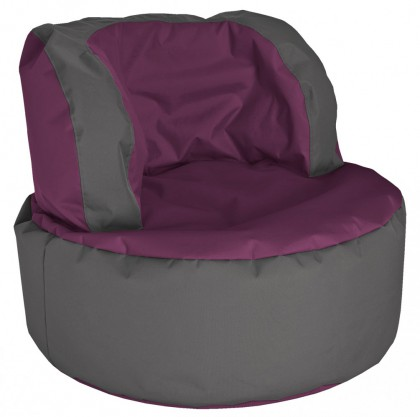 Sitzsack SCUBA Bebop aubergine 210l by Sitting Point