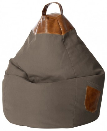 Sitzsack BeanBag Jamie XL braun l Magma by Sitting Point