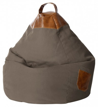 Sitzsack BeanBag Jamie XXL braun l Magma by Sitting Point