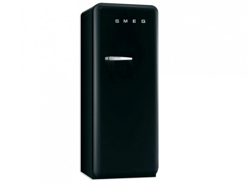 smeg standk hlschrank gefrierfach fab28rne1 schwarz. Black Bedroom Furniture Sets. Home Design Ideas