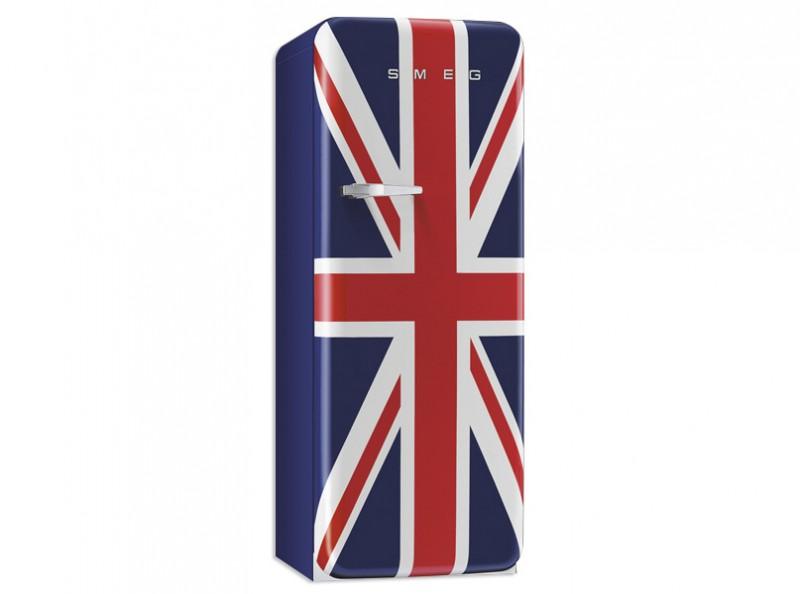 Smeg Standkühlschrank mit Gefrierfach, Retro-Style Union Jack ... | {Standkühlschränke 14}