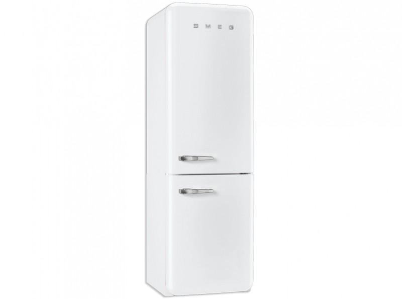 Kühlschrank retro weiß  Smeg Standkühlschrank mit Gefrierraum, Retro-Style Weiß, FAB32RBN1