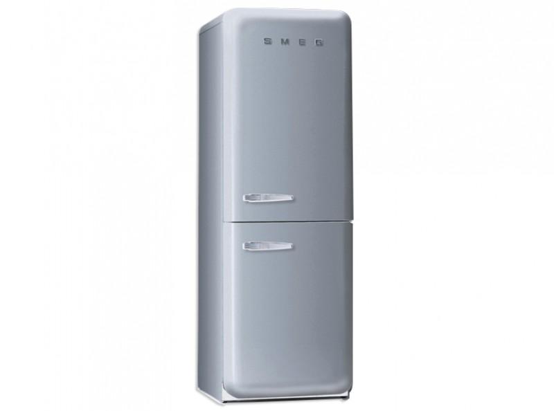 Standkühlschränke  Smeg Standkühlschrank mit Gefrierraum, Retro-Style Polarsilber ...