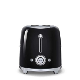 smeg toaster tsf02bleu 4 scheiben in schwarz retro stil 50er jahre style ebay. Black Bedroom Furniture Sets. Home Design Ideas