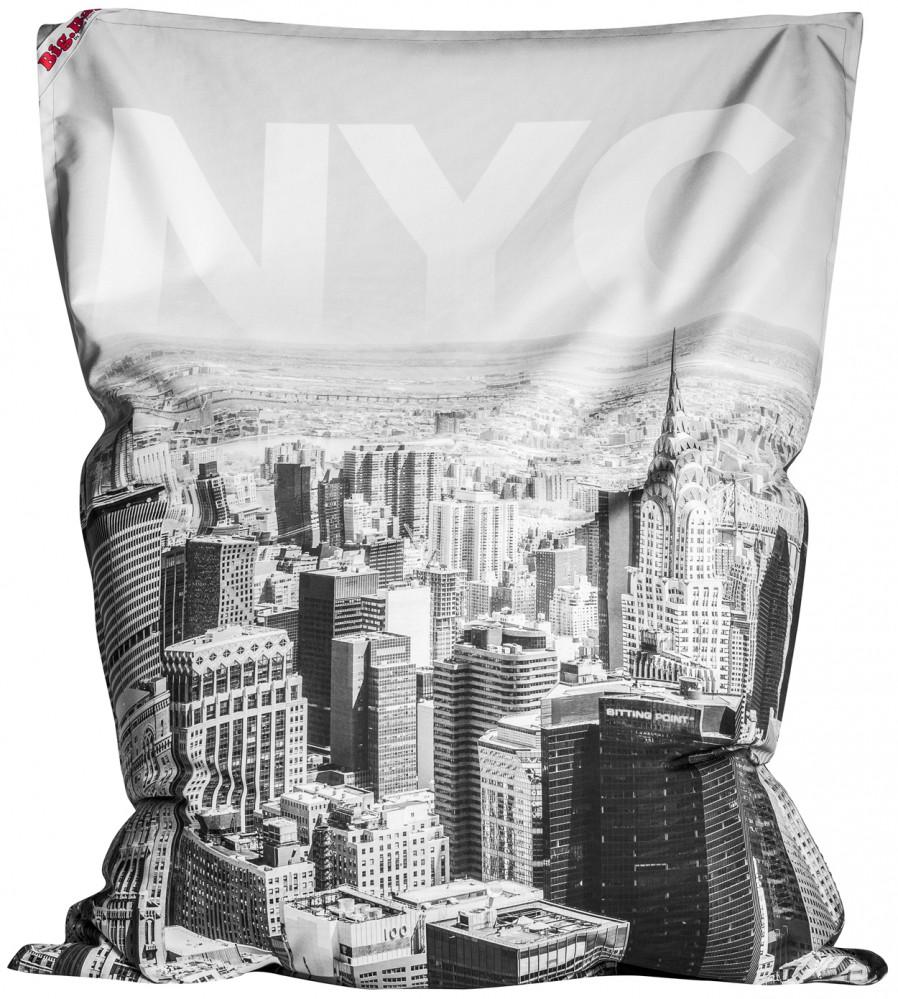 sitzsack brava big bag nyc schwarz 380l l by sitting point. Black Bedroom Furniture Sets. Home Design Ideas