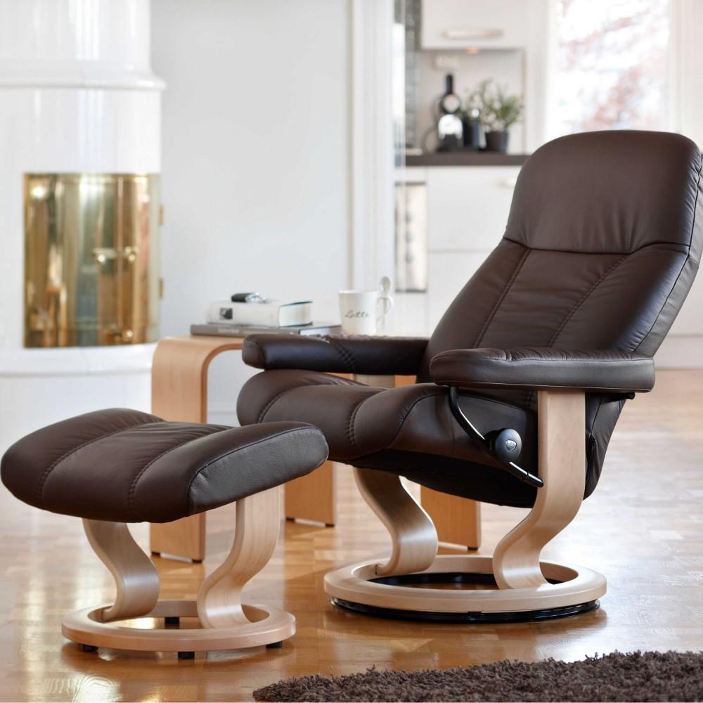 echt leder relaxsessel preisvergleiche. Black Bedroom Furniture Sets. Home Design Ideas