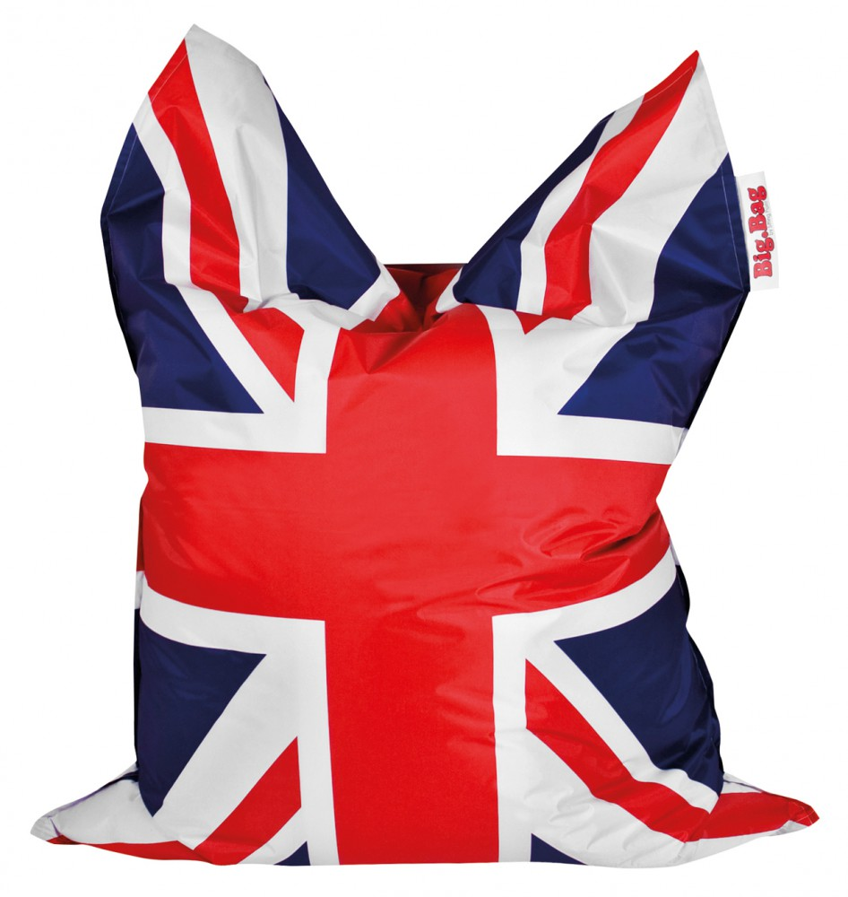 Sitzsack magma union jack brava 380l l by sitting point for Sessel union jack