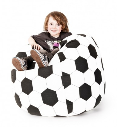 Sitzsack Fussball Beanbag XL 220 l Magma by Sitting Point – Bild 1