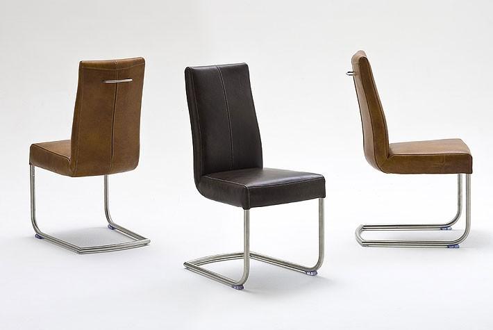 schwingstuhl flair iii cognac echt b ffel leder 2er set. Black Bedroom Furniture Sets. Home Design Ideas