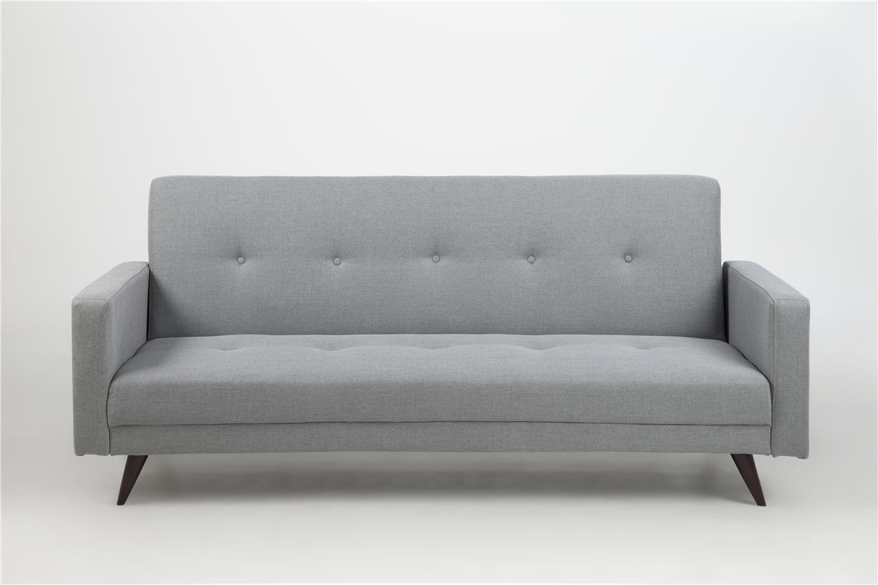 leconi schlafsofa hellgrau. Black Bedroom Furniture Sets. Home Design Ideas