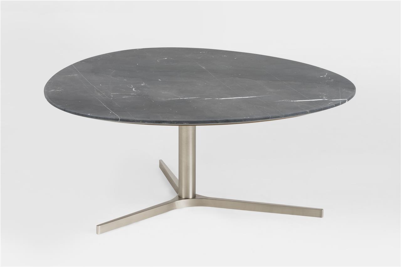 Design couchtisch plector marmor izmir schwarz for Couchtisch marmor schwarz