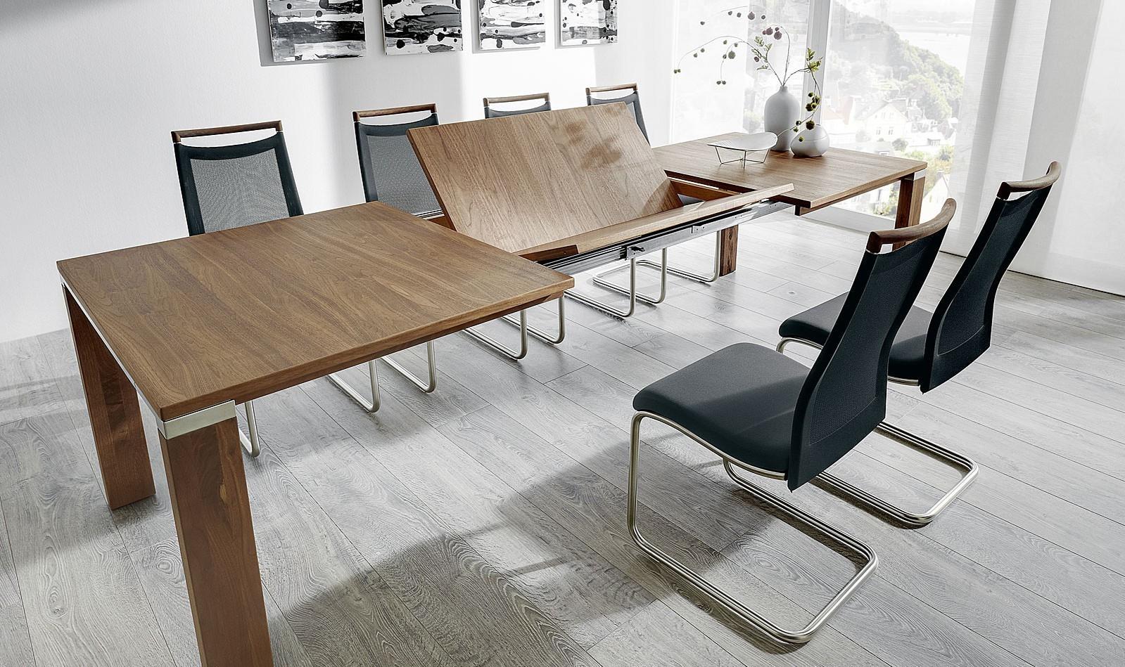 venjakob esstisch multiflex breite 100 cm 1 klappeinlage 100 cm. Black Bedroom Furniture Sets. Home Design Ideas