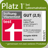 Diamona Latex Pure Matratze – Bild 3