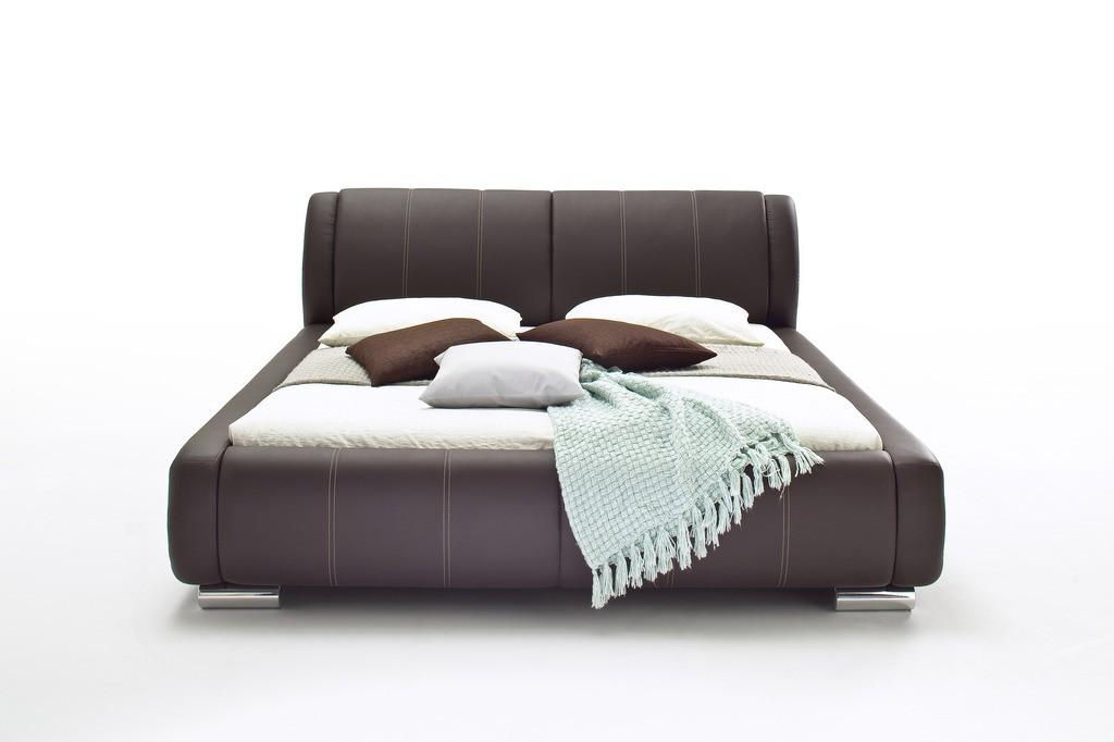 meise bolzano polsterbett 180x200 cm braun doppelbett. Black Bedroom Furniture Sets. Home Design Ideas