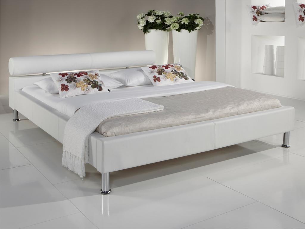 meise anello polsterbett weiss kunstlederbett betgestell betten neu ebay. Black Bedroom Furniture Sets. Home Design Ideas
