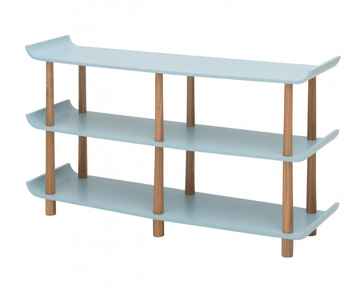 retro blau regal. Black Bedroom Furniture Sets. Home Design Ideas