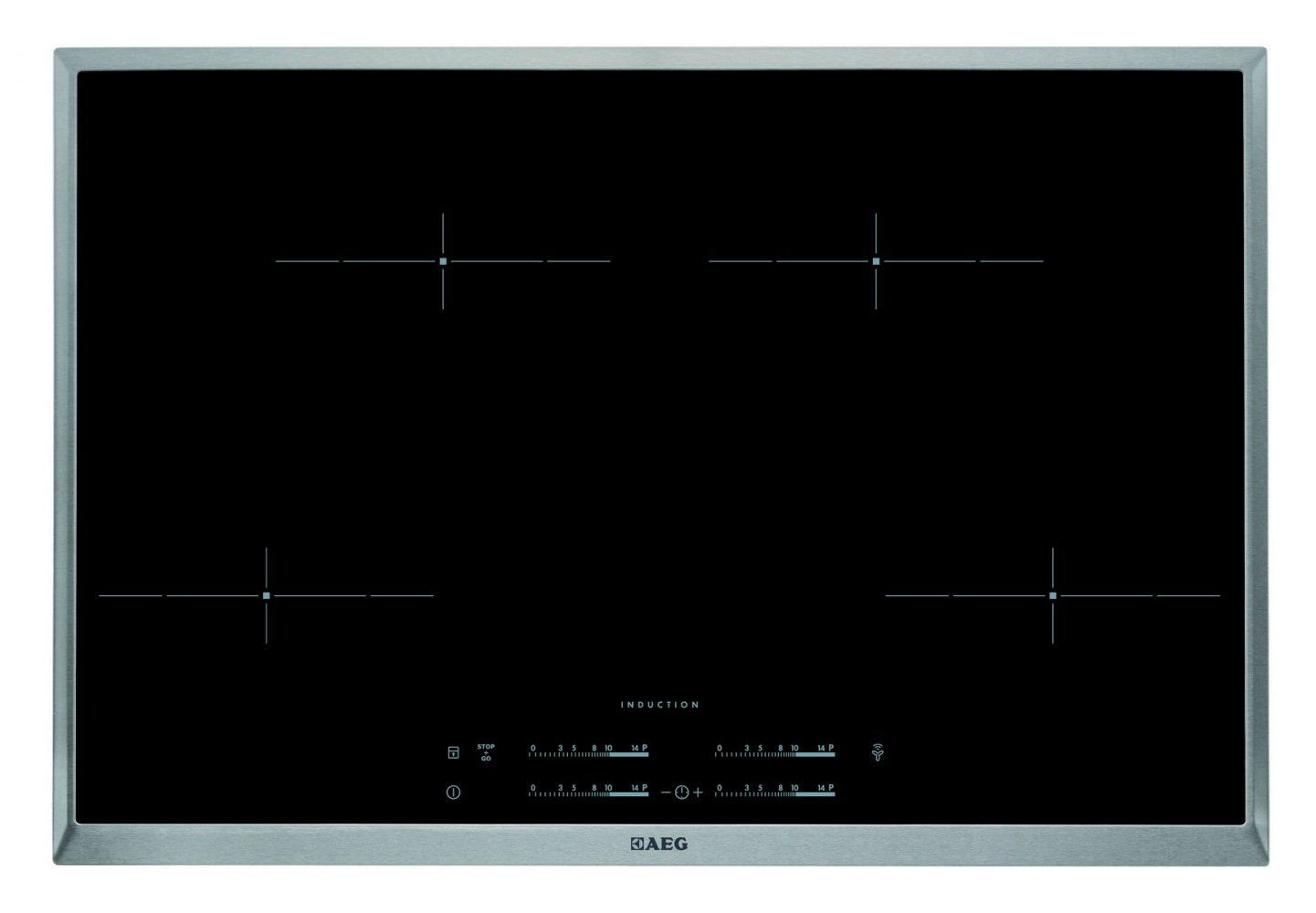 Aeg hdm 54108 xb induktionskochfeld 4x maxisense for Aeg maxisense