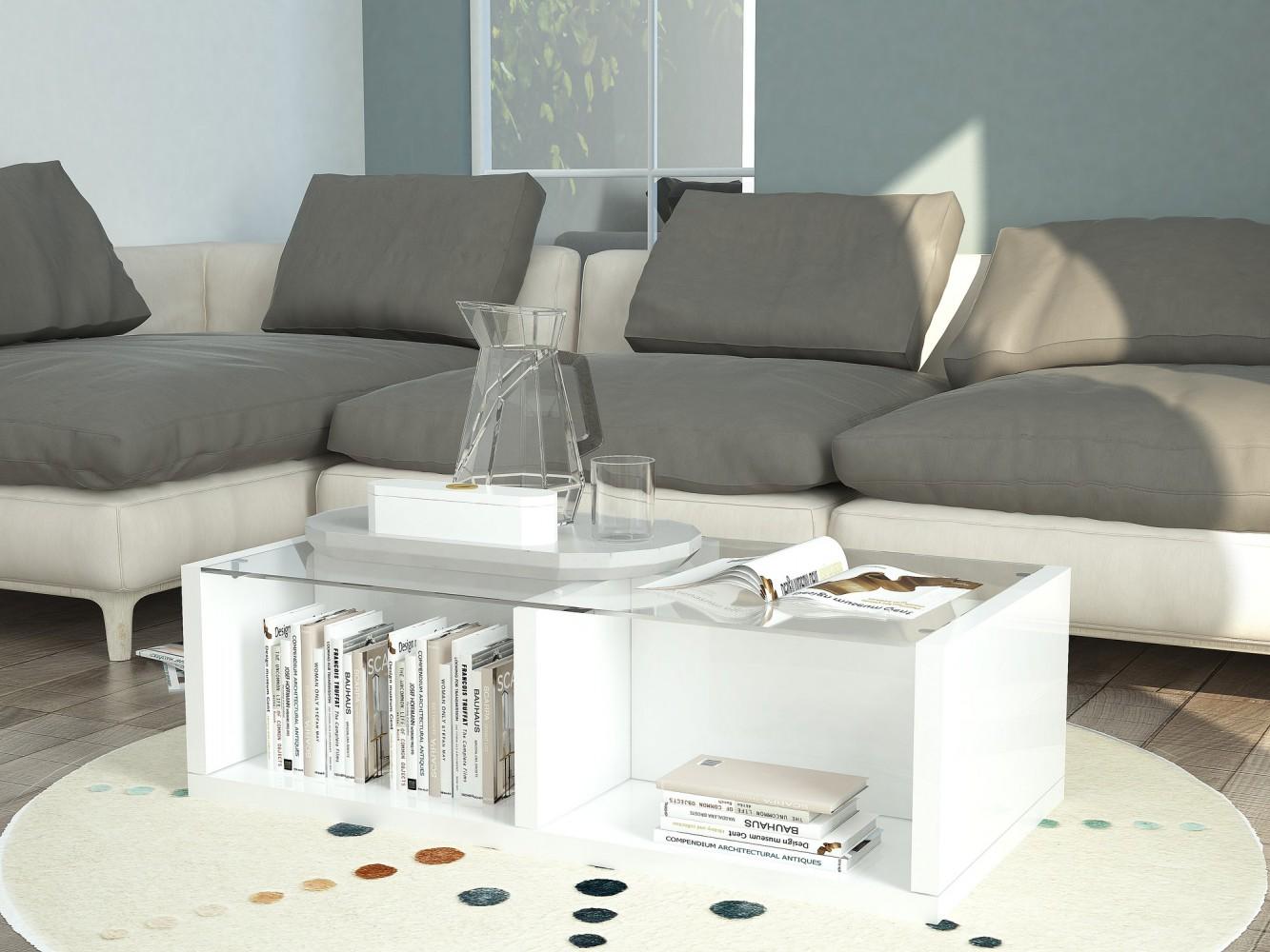 emejing wohnzimmertisch wei hochglanz photos design ideas 2018. Black Bedroom Furniture Sets. Home Design Ideas