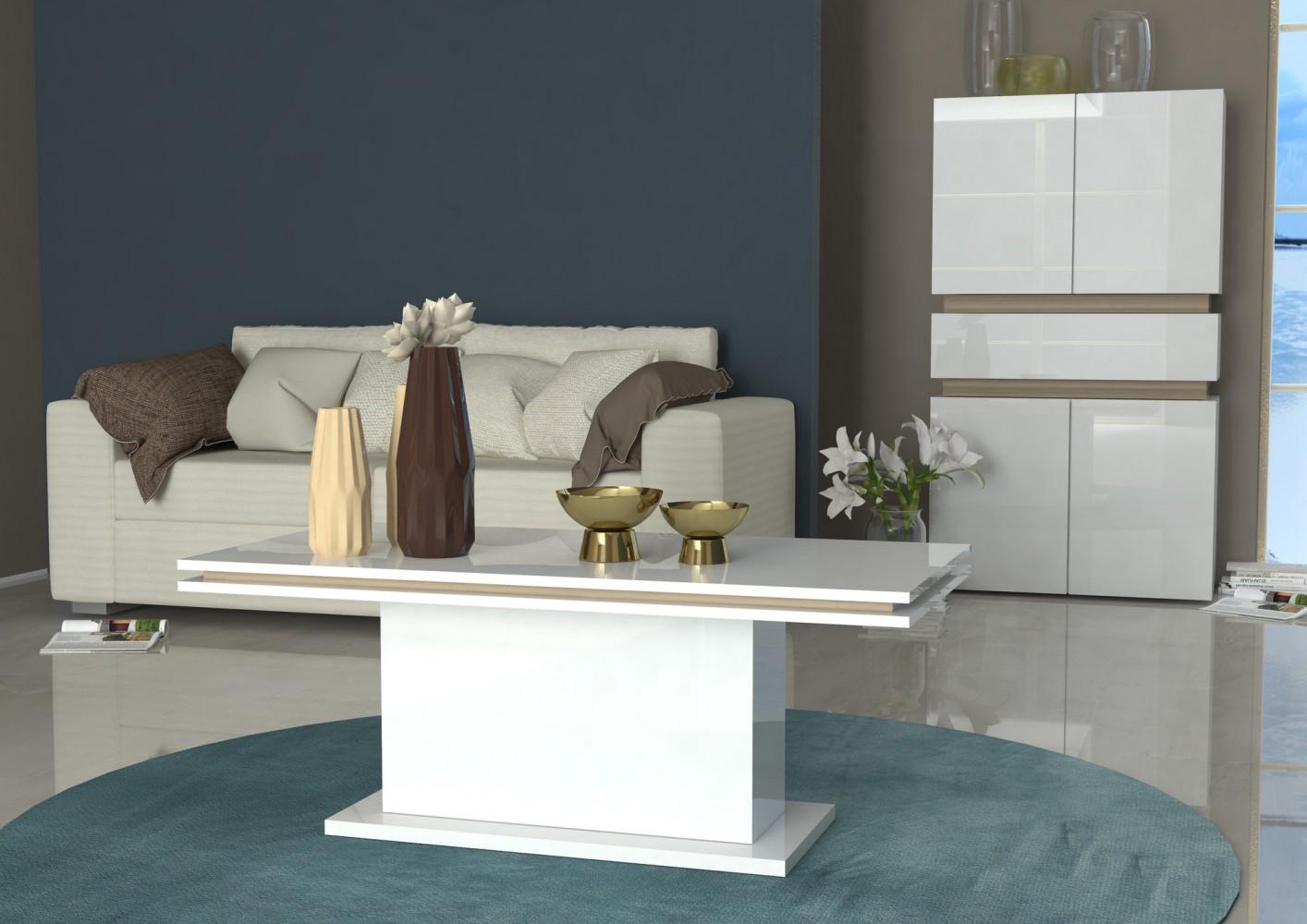 Tecnos couchtisch athena wohnzimmertisch modern neu for Couchtisch design modern