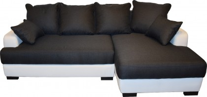 Beta-Line L-Sofa / Eckcouch Oscar mit Bettfunktion  – Bild 1