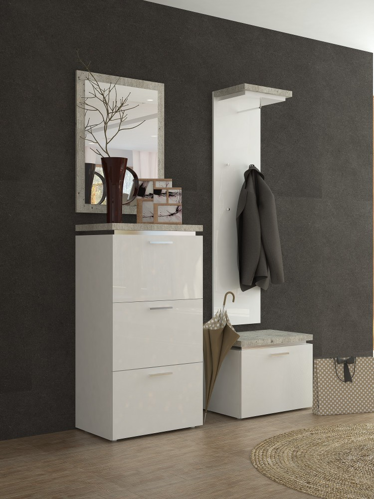 flur garderoben set stunning garderobe with flur garderoben set interesting cheap flur. Black Bedroom Furniture Sets. Home Design Ideas