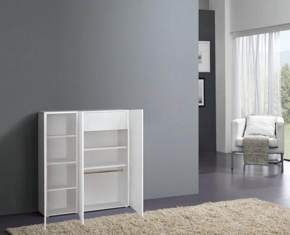 tecnos onda garderoben set 3 tlg flur kommode paneel. Black Bedroom Furniture Sets. Home Design Ideas