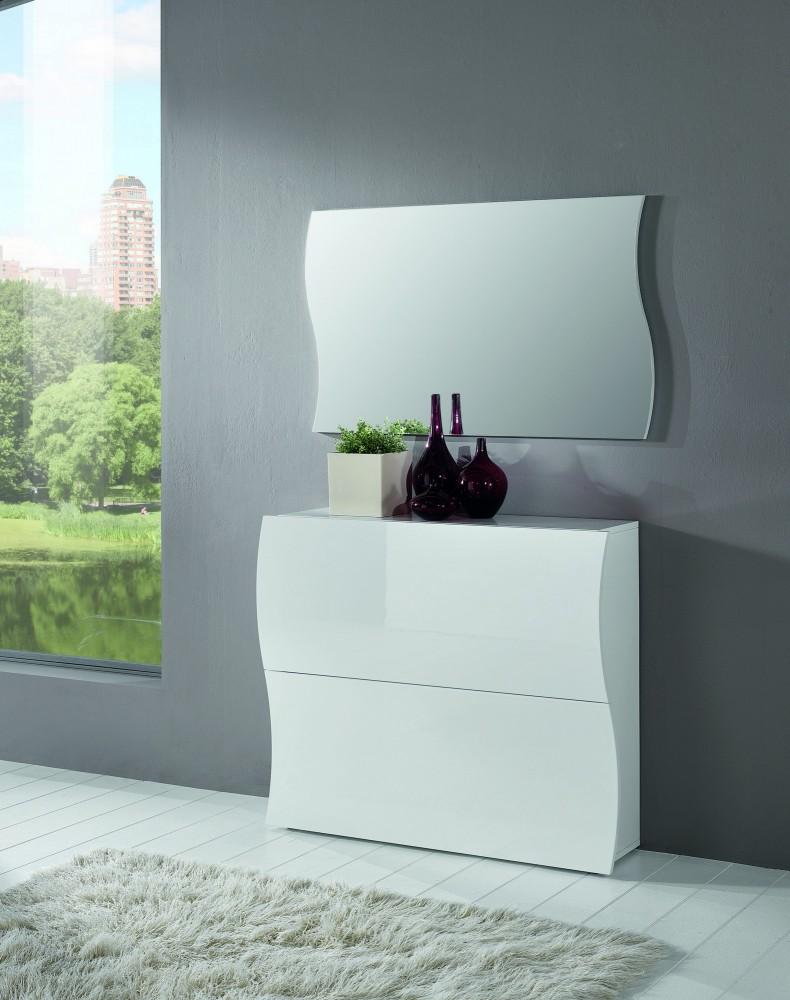 tecnos onda garderobenkombination 2 tlg flur kommode. Black Bedroom Furniture Sets. Home Design Ideas
