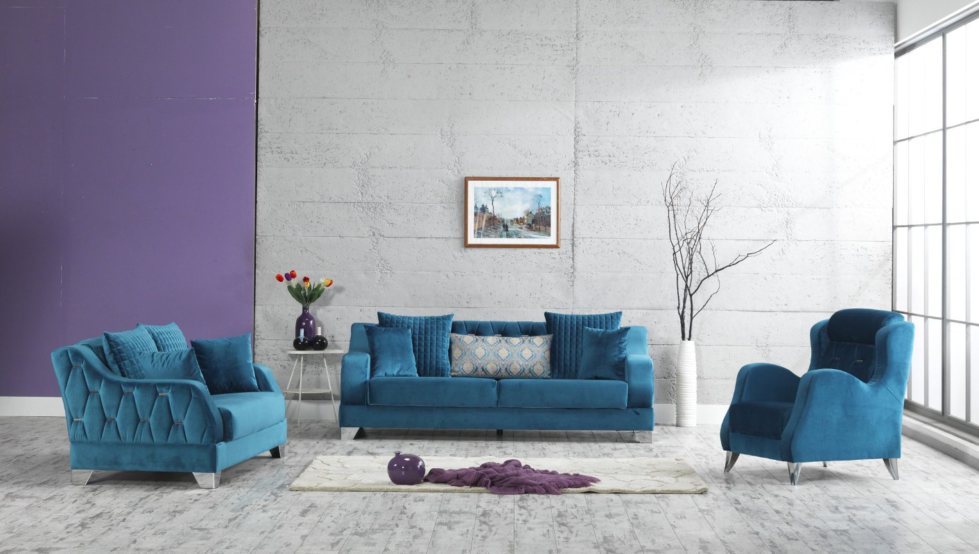 Design Polstergarniuter Paris Sofa Sitzer Sessel Wohnlandschaft