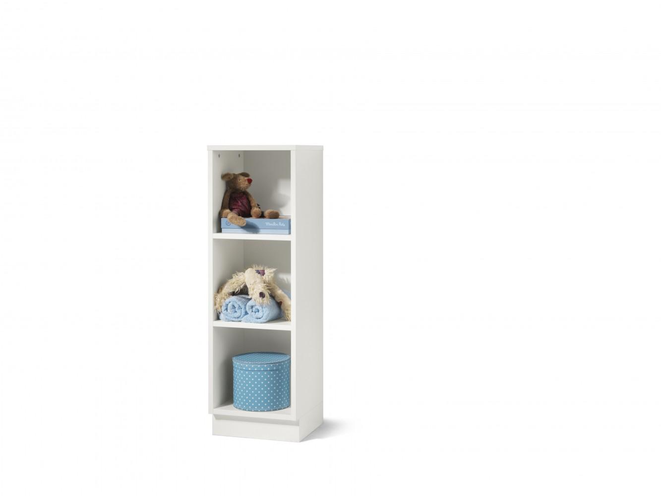 wellem bel milla regal 3 f cher weiss. Black Bedroom Furniture Sets. Home Design Ideas
